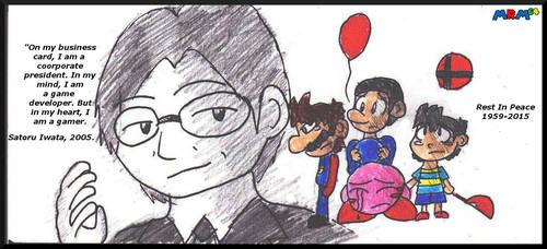 Tribute To Satoru Iwata by mrm64