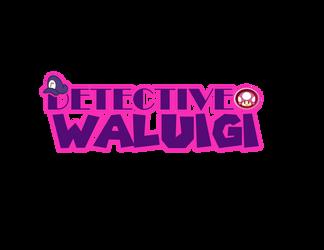 Detective Waluigi Logo 1 by mrm64