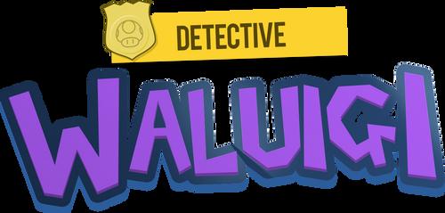 Detective Waluigi Logo 2 by MKDrawings by mrm64