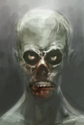 Grrr Zombie by Taclobanon