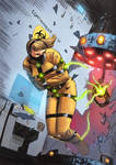 Samus Breaks Out! by Taclobanon