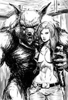 WereXwolf by Taclobanon
