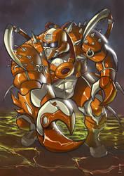 King Crab by Taclobanon