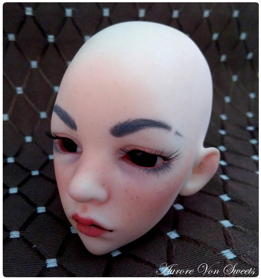 ♥ L'atelier d'Aurore Von Sweets ♥ Premier face-up [p1] Laureline_s_make_up_by_aurorevonsweets_dcrcpgv-pre
