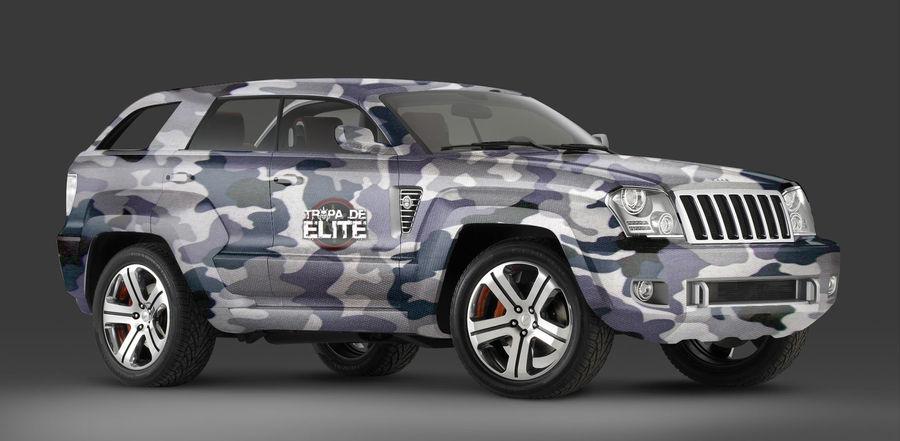 Jeep Cherokee - Tropa de Elite by decousa