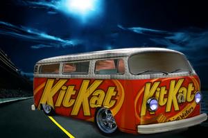 VW Van Enveloped on KitKat by decousa