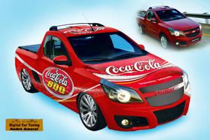 GM Montana - CocaCola Wrap by decousa