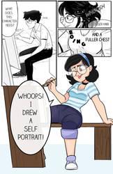 Commission AurePeri TG Comic by RisingFang