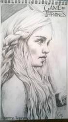Daenerys Targaryen by chloemeehan1