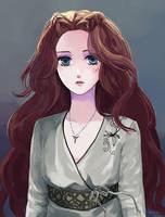 Sansa Stark by elliesky