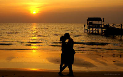Sunset by adiar