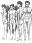 Underwear Men- Ruslan and Troan by Dani-Claw