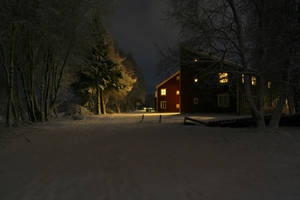 Winter Eve at Gubb, VI by Datasmurf