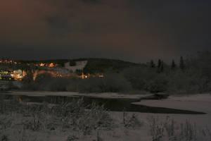 Winter Eve at Gubb, VII by Datasmurf