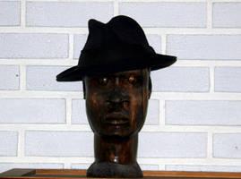 Wooden head by Datasmurf