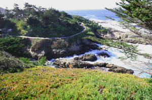 View from Big Sur 2 by Datasmurf