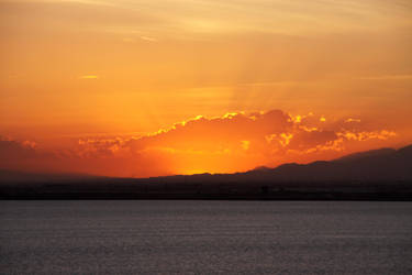Sunset at La Manga 05 by Datasmurf