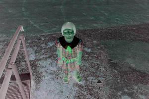 Scary kid by Datasmurf