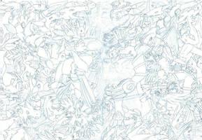Pokemon vs Digimon - no icons by Garmmon