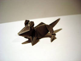 Origami Mouse by dragonfish