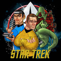Star Trek TOS by jonpinto
