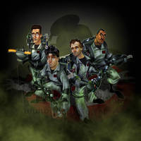 Ghostbusters by jonpinto