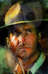 Indiana Jones by jonpinto