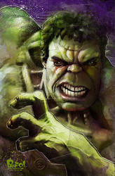 The Hulk by jonpinto