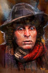 Fourth Doctor by jonpinto