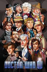 Twelve Doctors by jonpinto