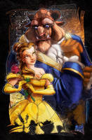 Beauty and the Beast by jonpinto