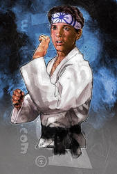 The Karate Kid! by jonpinto
