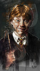Ron Weasley! by jonpinto