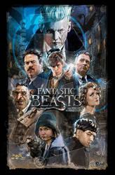 Fantastic Beasts by jonpinto