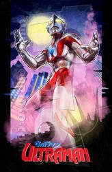 Ultraman! by jonpinto
