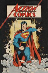 Superman: Action Comics by jonpinto