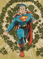 Retro Superman by jonpinto