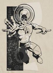 Daredevil Comic by jonpinto