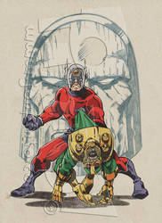 Orion of the New Gods by jonpinto