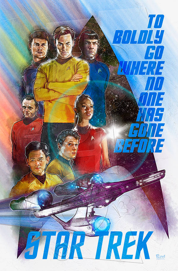 Star Trek by jonpinto