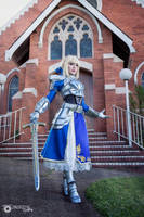 SABER - FATE STAY NIGHT by JinxKittieCosplay