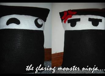 glaring ninja... by larka1