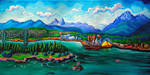 Coal Harbour by Laurazee
