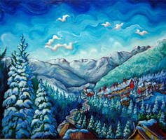 Whistler View by Laurazee