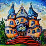Holy Trinity Ukrainian Church by Laurazee