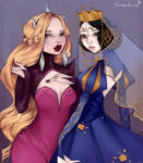 School for Good and Evil - Grand Witch + Queen by hasphine