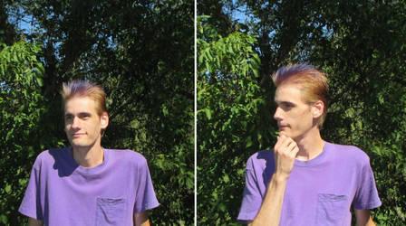 Cody Lyoko - Odds Hair in Real Life by The0ddOne