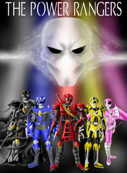 The Power Rangers by Distephano
