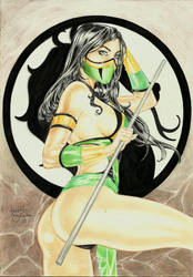 Jade - Mortal Kombat by IzonetoSousa