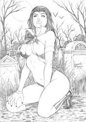 Vampirella by IzonetoSousa